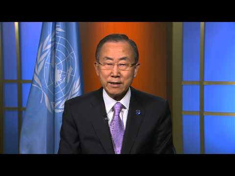 2013 International Day of Peace, UN Secretary-General message