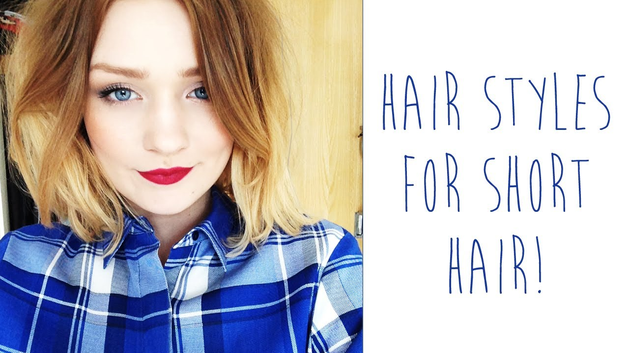 Hairstyles For Short Hair On Youtube : Hair styles for SHORT HAIR tinytwisst - YouTube