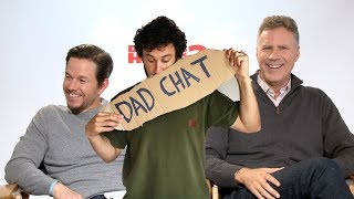 DAD CHAT with Will Ferrell & Mark Wahlberg