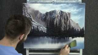 Paint With Kevin Hill Winter In Yosemite National Park