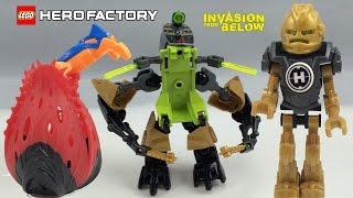 LEGO Hero Factory Invasion From Below Rocka Crawler 44023