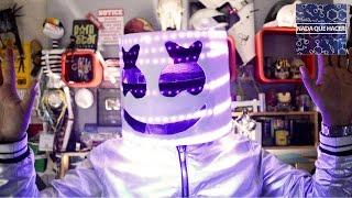 Como hacer el casco de Marshmello con luces led! DIY |NQUEH