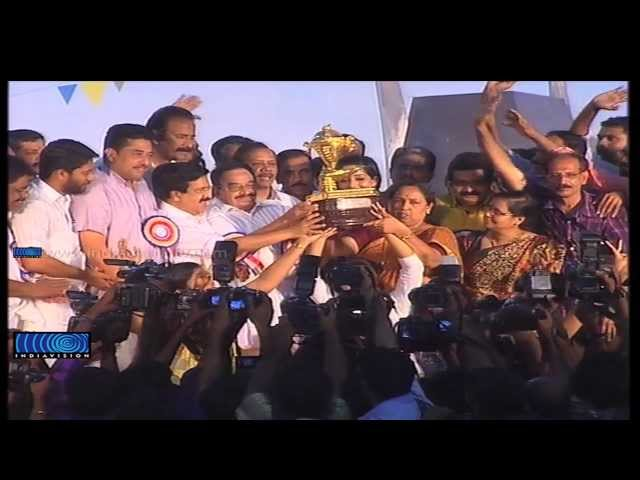 Kozhikode Retains Gold Cup in State School Youth Festival 2014