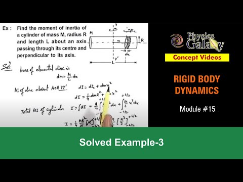Solved Example on Rotational Motion (ROT11X3)