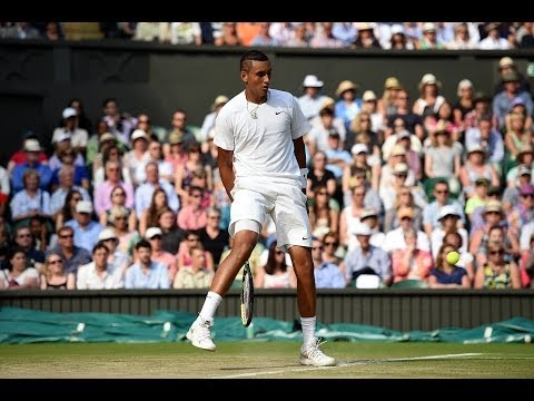 HSBC Play Of The Day: Nick Kyrgios amazing tweener - Wimbledon 2014