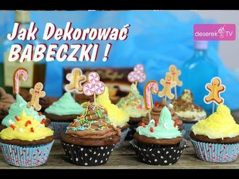 Jak dekorować babeczki przepis | Deserek.TV