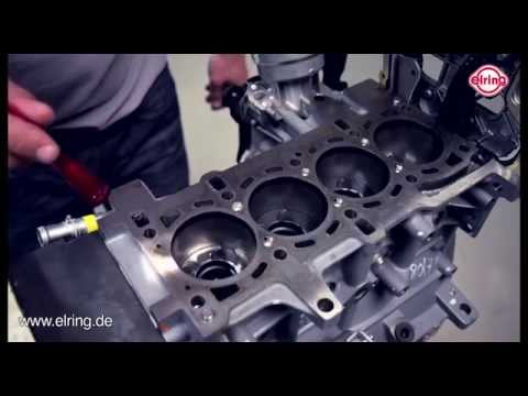 Elring - Professional Installation of a Cylinder Head Gasket in a Fiat Engine