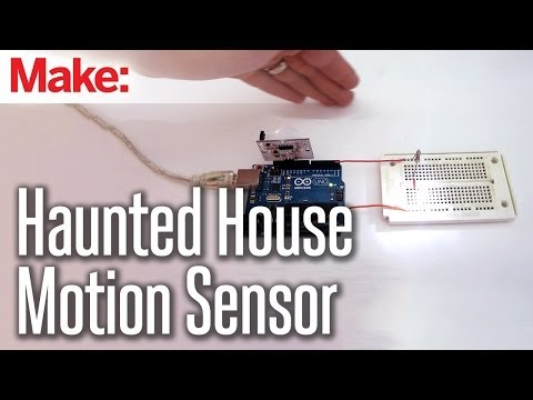 DIY Hacks & How To's:  Automate Your Haunted House With a MotionSensor