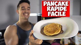 LE MEILLEUR PANCAKE ! (recette rapide facile healthy sans sucre protéinée )