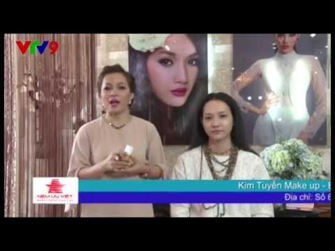 Kim Tuyến - Bí quyết trang điểm Khuông mặt Thon gọn (Thời trang Phong Cách Trẻ VTV9)