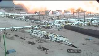 Big Explosion In Jubail Chemical Waste Plant 22 Dec 2012