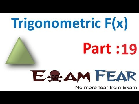 Maths Trigonometry part 19 ( Problems ) CBSE class 11 Mathematics XI