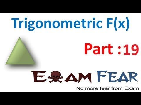 Maths Trigonometry part 19 ( Problems ) CBSE class 11 Mathematics XI