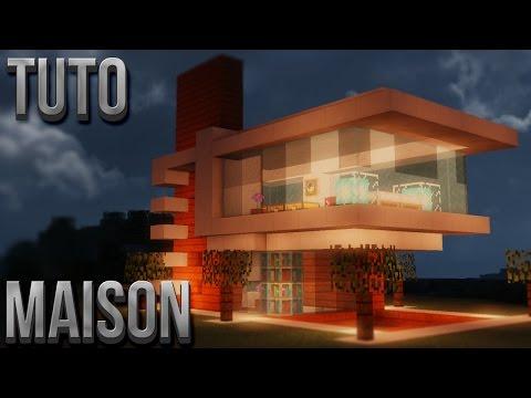Tuto belle maison moderne minecraft phim video clip for Tuto maison moderne