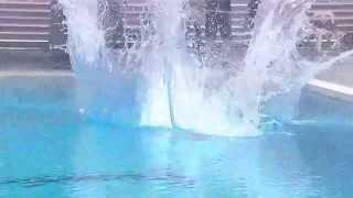 El peor salto de trampolín