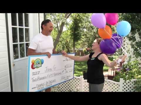 Double Up Dollars $250,000 Second Chance Winner