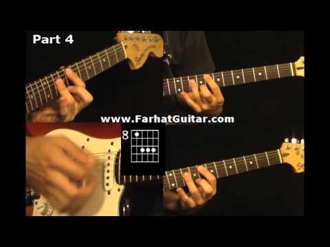 Roxanne - The Police 4/5 Guitar Cover www.FarhatGuitar.com