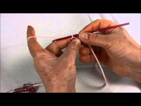 Crochet Jewelry: Basic Beaded Chain