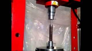 Push button rifling - making a rifled barrel
