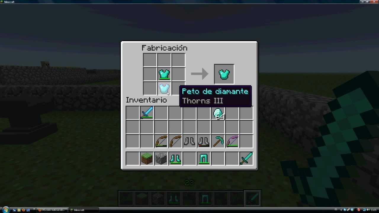 Minecraft Tutorial Reparaci 243 N De Armas Yunque Y Caja De