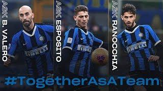 ASK INTER | WEEKLY RECAP | BORJA VALERO + ESPOSITO + RANOCCHIA | #TogetherAsATeam 🖥⚫🔵🏠??? [SUB ENG]