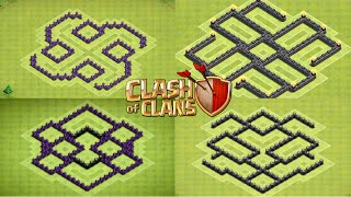 Clash Of Clans Top 5 TH6 Farming Bases (November 2014