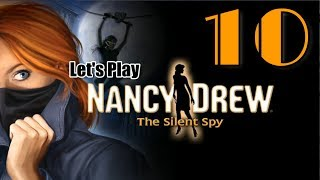 Nancy Drew 29: The Silent Spy [10] W/YourGibs HACK EWAN