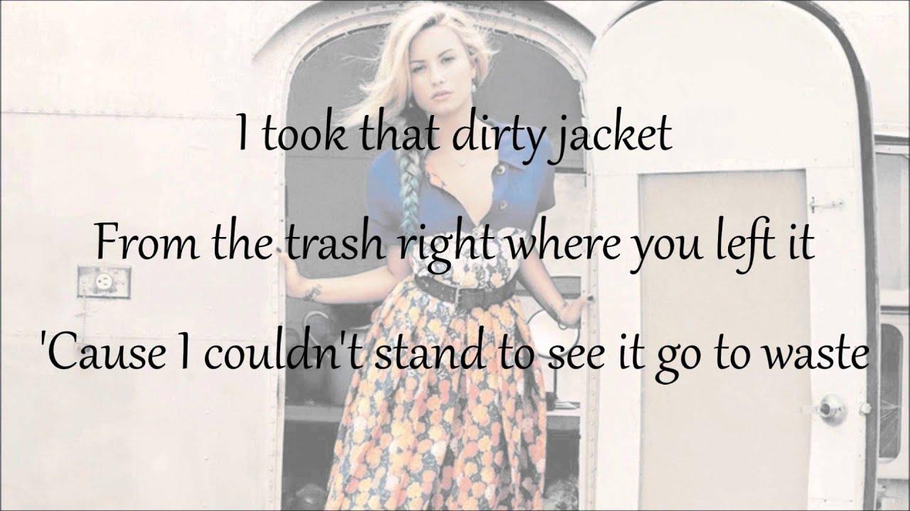 Demi Lovato Case Lyrics Youtube
