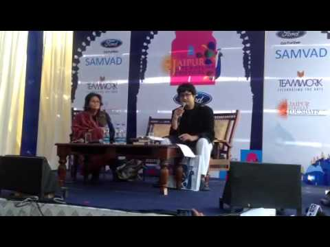 Prasoon Joshi reading from Sunshine Lanes : Poetry in life