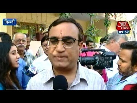 My Vote 2014: Ajay Maken's daughter wishes victory for father