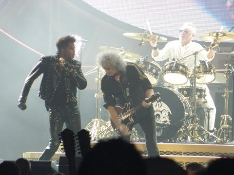 Queen + Adam Lambert (Dallas Concert-7/10/14) AA Center