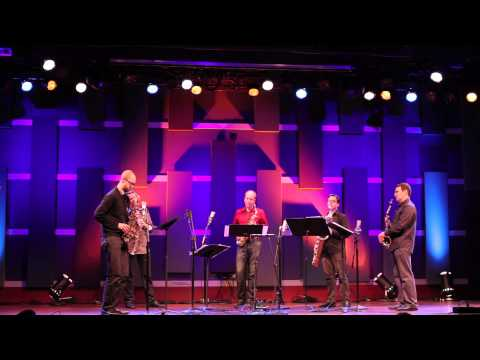 "PRISM Quartet and Steve Lehman performing excerpts from Lehman's ""15 Places at the Same Time"""
