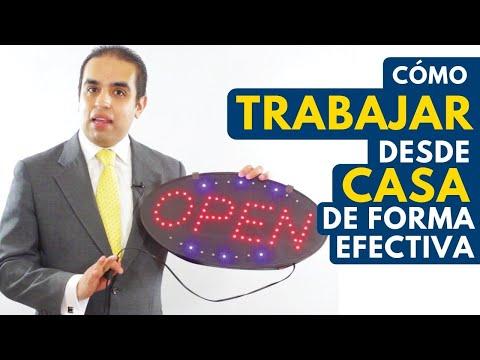 Cómo trabajar desde casa de forma efectiva | Curso de ventas con Carlos Flores