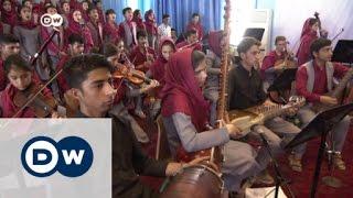 شابة أفغانية تكافح لتصبح قائدة أوركسترا  