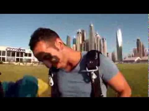 SKYDIVE DUBAI# un marseillais!!!!!!!!!!!