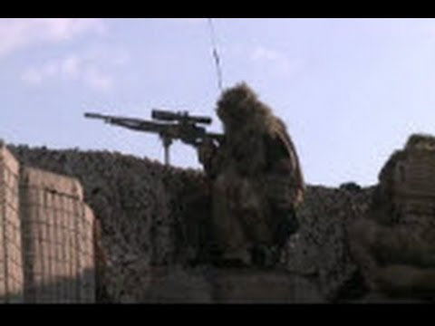 AFGHANISTAN!  British Soldiers Respond to the Taliban Shooting from