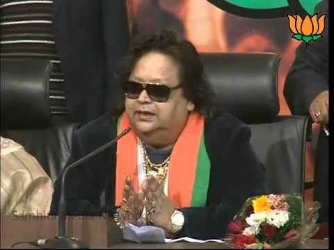 Eminent personalities Bappi Lahiri Joins BJP in the presence of Shri Rajnath Singh