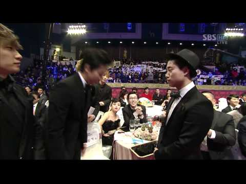 2013 KBS ENTERTAINMENT AWARDS(cut) +received Best Entertainer Awards