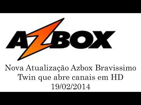 Azbox: Como Abrir Canais em HD no Azbox Bravíssimo Twin 19/02/2014