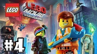 The LEGO Movie Videogame | PC Walkthrough | Part 4 | SUPER CYCLE !!!!