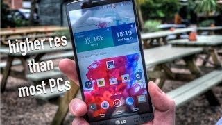 LG G3 - Higher Resolution Than Most PCs