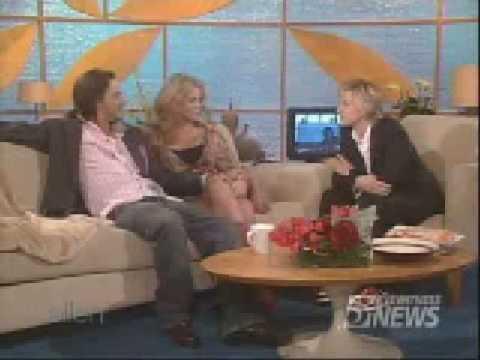 Britney Spears And Kevin Federline On Ellen DeGeneres Show, Britney and Federline xD