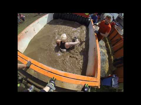 Tough Mudder 2014 London West UK -  Arctic Enema - GoPro 3
