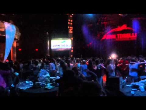 Hard Rock Cafe Orlando!! Fiesta Grupo Toselli! Video 1