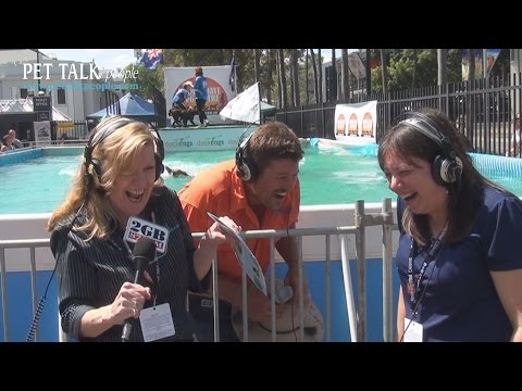 Radio 2GB Live Cross from Sydney Dog Lovers Show 2014