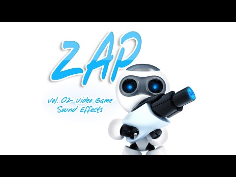 Zap 02 - Sci Fi Weapon Video Game Sound Effects - Laser Gun SFX