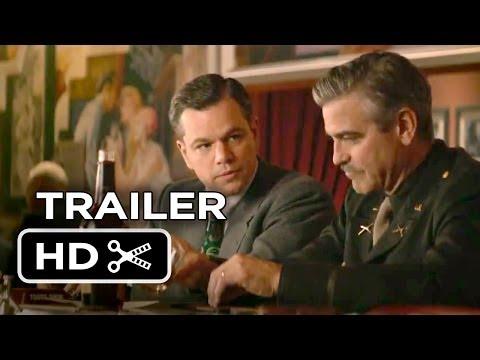 The Monuments Men Official Trailer #2 (2013) - George Clooney, Matt Damon Movie HD