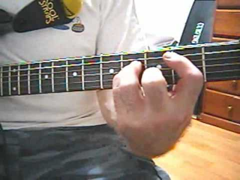 Part 4 - One Way or Another - Rhythm Guitar during Solo