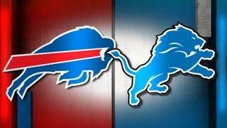 Buffalo Bills Vs Detroit Lions WEEK 5 NFL RAPID RECAP