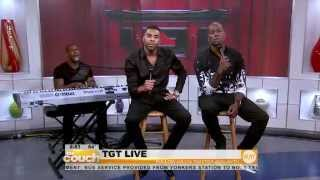 "TGT Performs ""I Need"" Live On The Couch"